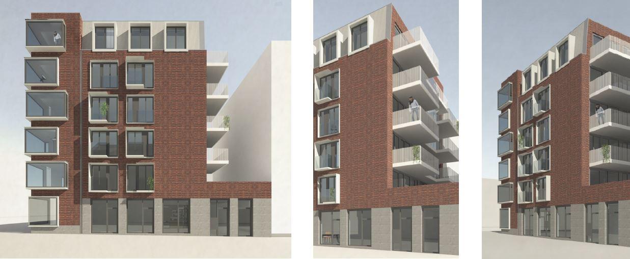 Ontwerp je woning projecten bilderdijkkade - Eigentijds gebouw ...
