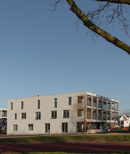 In Nieuw Leyden heeft OntwerpJeWoning het project Marepark ontwikkeld.