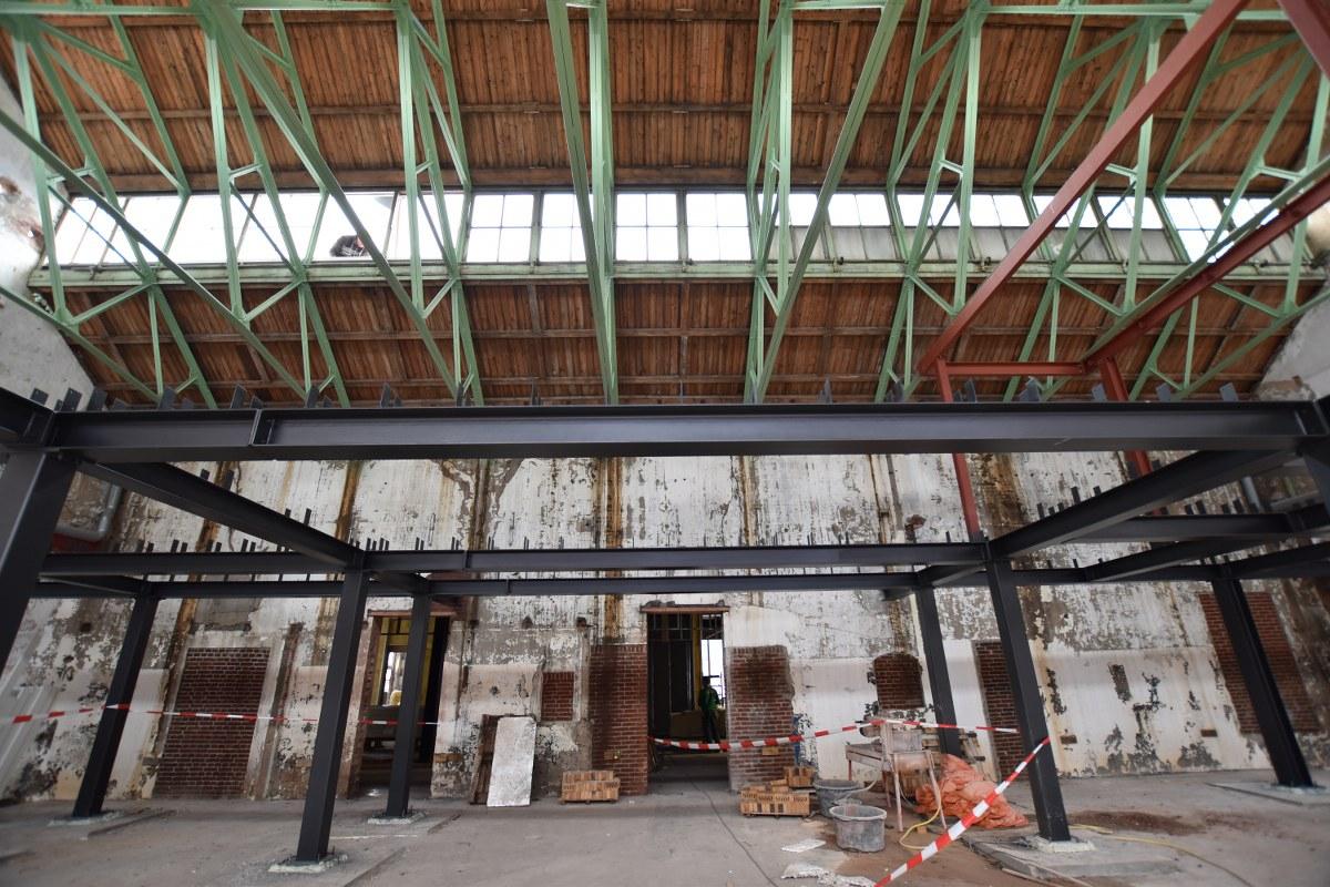 Bouw woonfabriek Leiden in volle gang