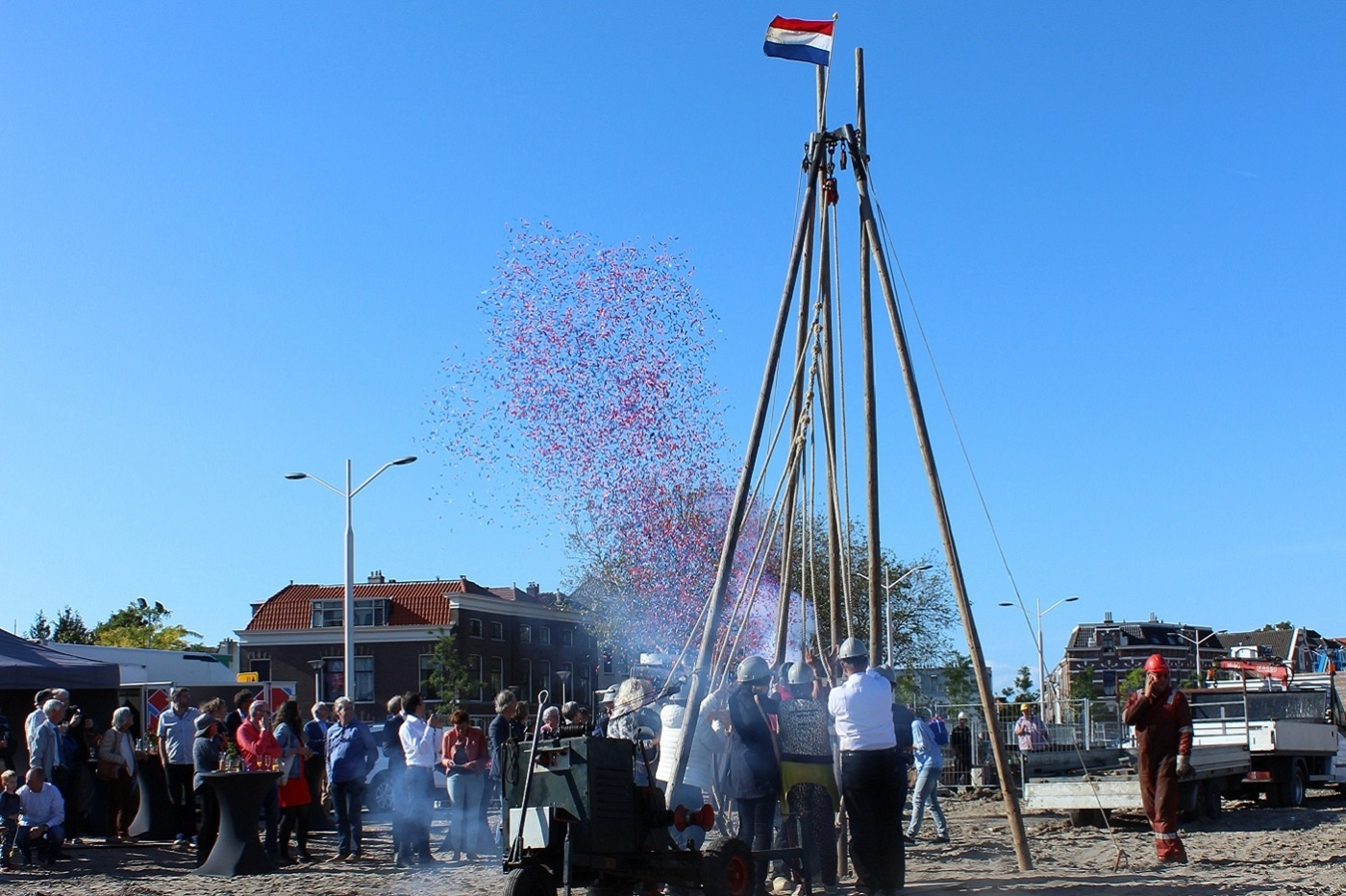 Feestelijke start bouw Leeuwenhoek Delft